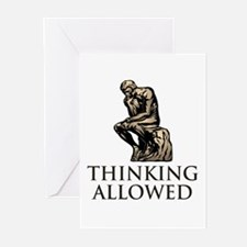 The Thinker's Greeting Cards (Pk of 10)