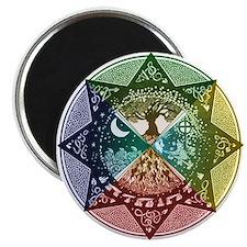 Elemental Seasons Magnet
