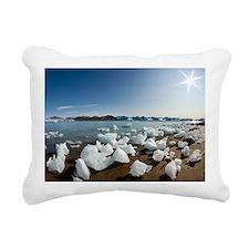 Icebergs and midnight sun - Pillow