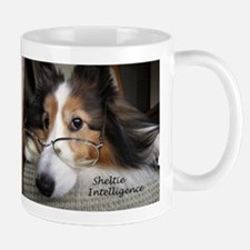 Sheltie Intelligence Mug