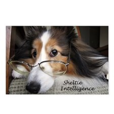 Sheltie Intelligence Postcards (Package of 8)