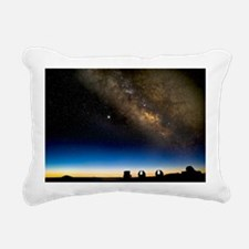 Milky way and observatories, Hawaii - Pillow