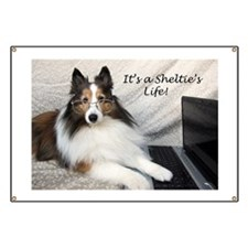 Its a Shelties Life Banner