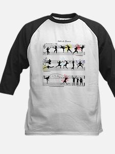 Musical Fight Scene! Kids Baseball Jersey