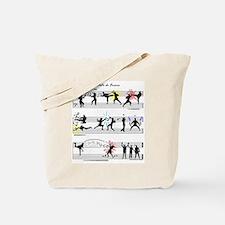 Musical Fight Scene! Tote Bag