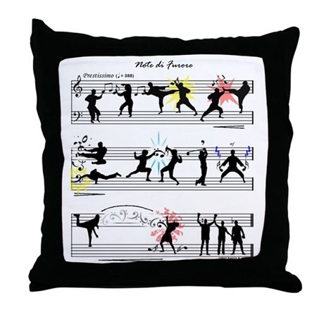 Throw Pillow Movie Scene : Musical Fight Scene! Throw Pillow by listing-store-76075199