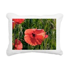 Poppies (Papaver rhoes) and grass - Pillow