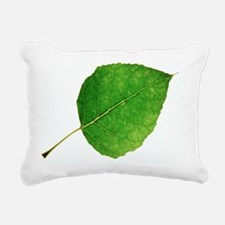 Populus x canadensis leaf - Pillow