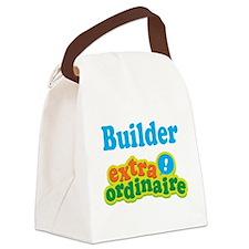 Builder Extraordinaire Canvas Lunch Bag