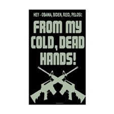 From My Cold Dead Hands! Decal