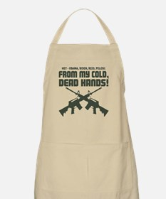 From My Cold Dead Hands! Apron