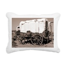 Wild West covered wagons - Pillow