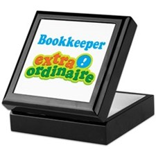 Bookkeeper Extraordinaire Keepsake Box
