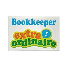Bookkeeper Extraordinaire Rectangle Magnet