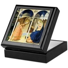 Fra Angelico The Annunciation Keepsake Box
