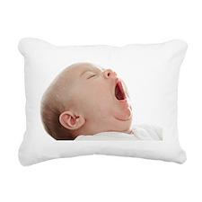 Baby yawning - Pillow