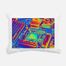 Computer motherboard with core i7 CPU - Pillow