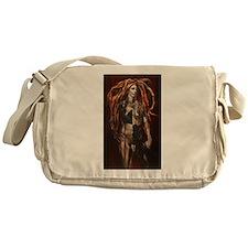 Male Harlequin Messenger Bag