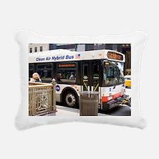 Hybrid bus in Chicago - Pillow