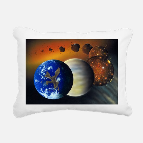 Formation of the Earth, artwork - Pillow