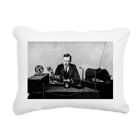 Guglielmo Marconi, radio inventor - Pillow