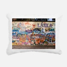 Lennon Wall, Prague - Pillow