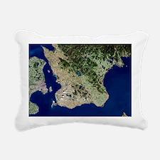 Malmo, satellite image - Pillow
