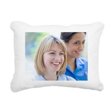 Nurses smiling - Pillow