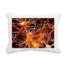 Nerve cells, artwork - Pillow