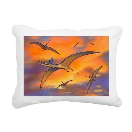 Pterosaur flying reptiles, artwork - Pillow