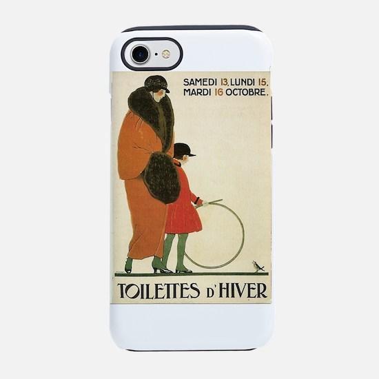 Toilettes D'Hiver iPhone 7 Tough Case