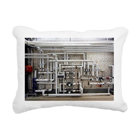Sewage sludge burning plant - Pillow