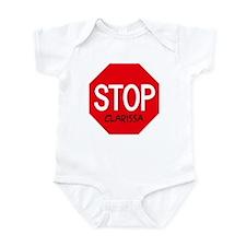 Stop Clarissa Infant Bodysuit