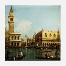 Canaletto The Pier Tile Coaster