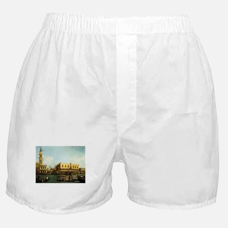 Canaletto The Pier Boxer Shorts