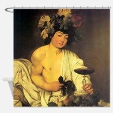 Caravaggio The Young Bacchus Shower Curtain