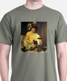 Caravaggio The Young Bacchus T-Shirt