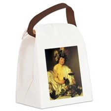 Caravaggio The Young Bacchus Canvas Lunch Bag