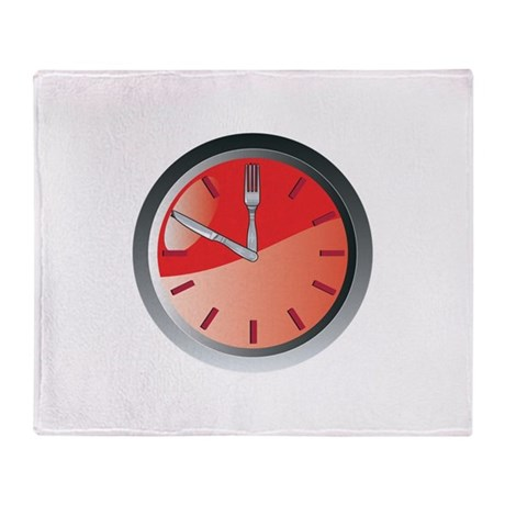 wall clock spoon and fork eating time Stadium Bla