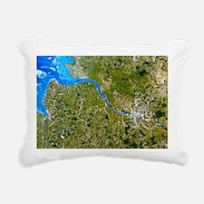 True-colour satellite image of Hamburg, Germany -