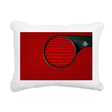 Corduroy under a magnifying glass - Pillow