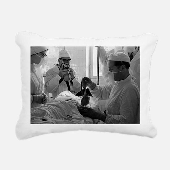 Demikhov's heart transplant, 1962 - Pillow