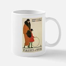 Toilettes D'Hiver Mugs