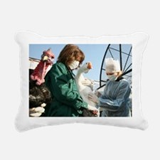 Bird flu vaccination - Pillow