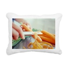 Peeling carrots - Pillow