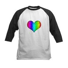 Rainbow Grunge Heart Tee