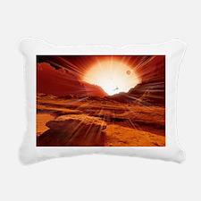 Proxima Centauri planet, artwork - Pillow