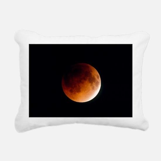 Total lunar eclipse, partial phase - Pillow