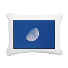 View of a gibbous moon - Pillow