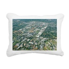Aerial view of Silicon Valley - Pillow